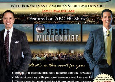 Millionaire Secrets Full Flyer 2019-New