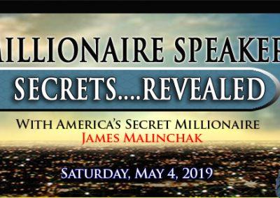 Millionaire Speakers Secrets Banner-2019