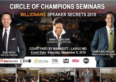 Millionaire Speaker Banner November 2019-Triple Threat-1