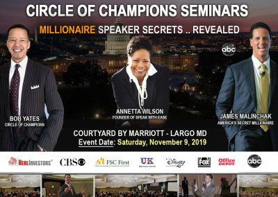 Millionaire Speaker Banner November 2019-Triple Threat Final